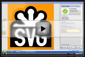 結果の編集方法を示すビデオ。